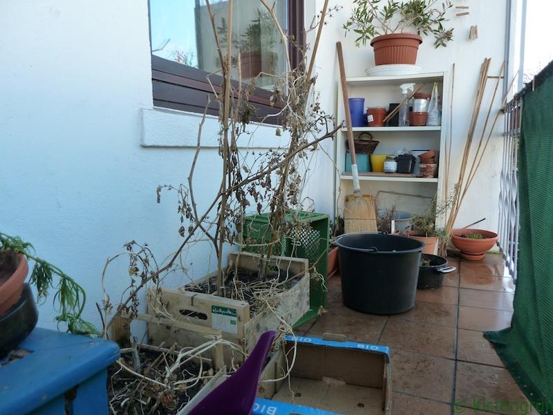 Mein Balkon - reif für den Frühjahrsputz