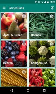 GartenBank-App Inhalt